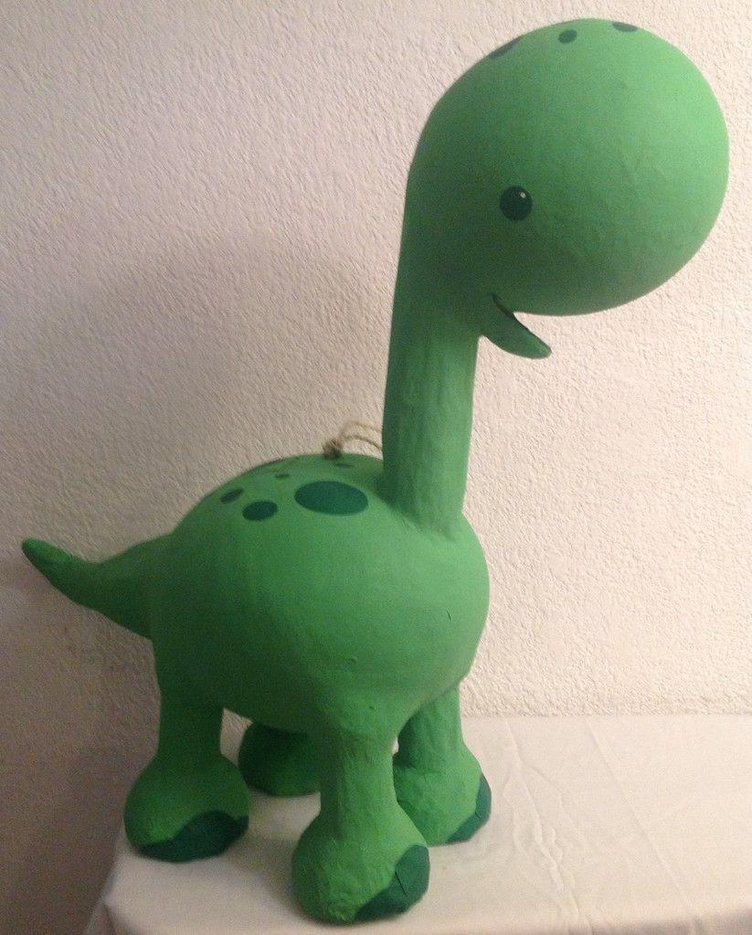 Dinosaurio Verde Dinosaurios Manualidades Como Hacer Piñatas Proyectos De Dinosaurios