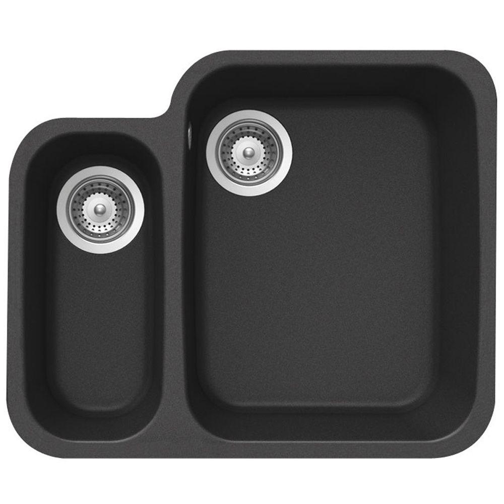 Product Code Soln150on Black Undermount Kitchen Sink Sink Granite