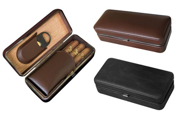 Distributor of Wholesale Cigar Cases & Cigar Ashtrays