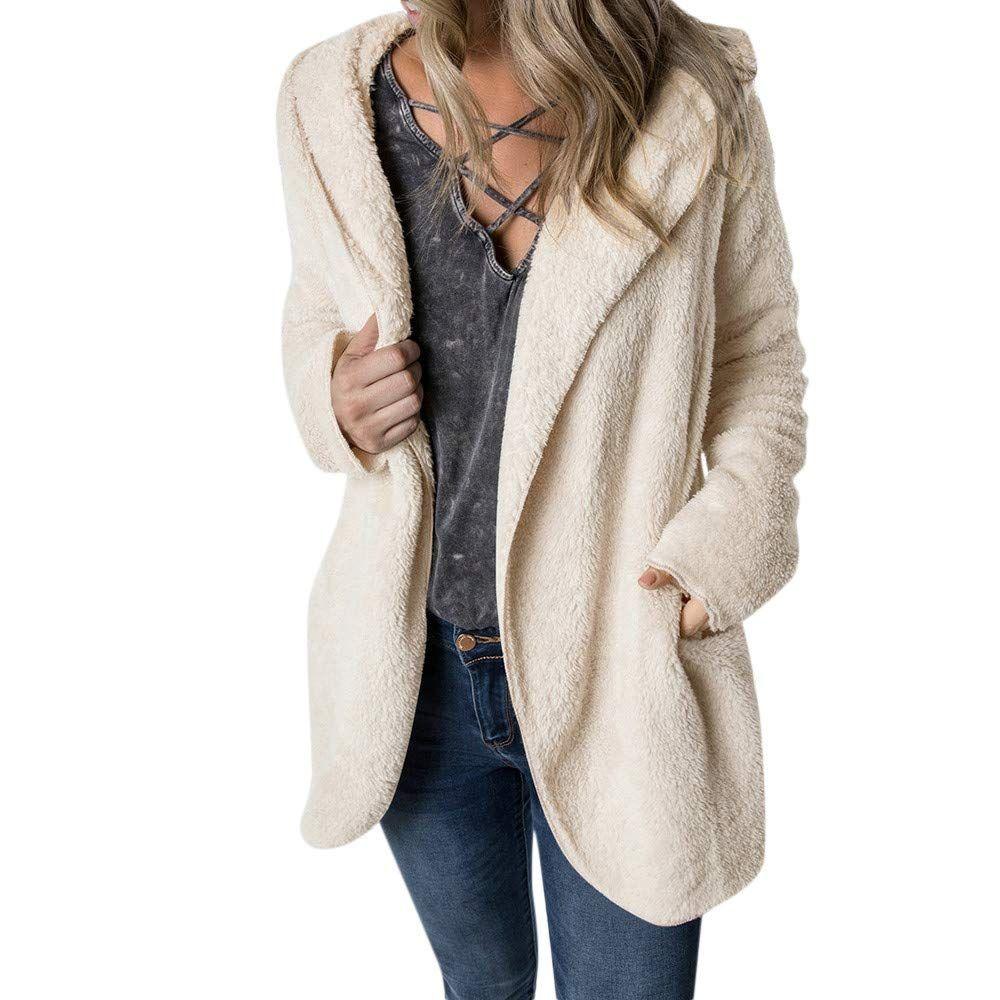 Long Sleeve 1//4 Zip Sweatshirt Fleece Pullover Outwear Coat with Pockets WearFun Womens Sweatshirt Casual Hoodie