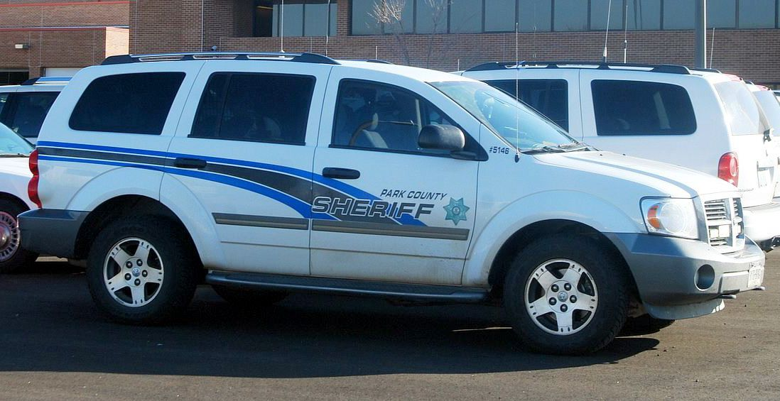 Park County (WY) Sheriff Dodge Durango Slicktop Dodge