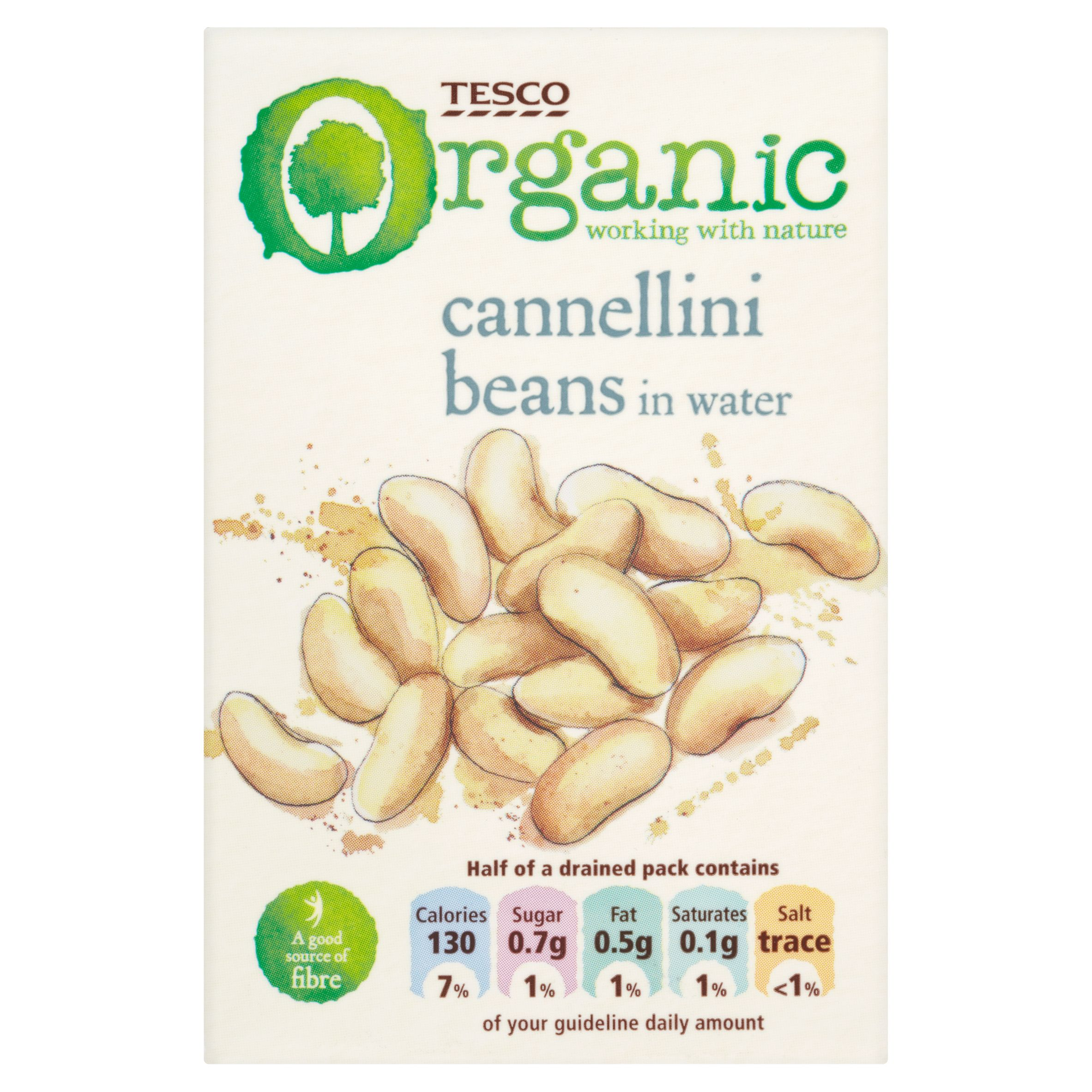 #TescoOrganic! Cannellini beans in water.