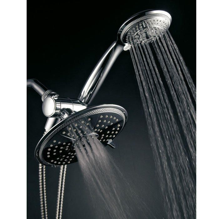 Ultra Luxury 24 Setting 3 Way Rainfall Handheld Shower Head Combo