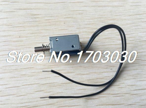 DC 5V 1mm 100g 2mm 50g Force Push Pull Type Open Frame Solenoid Electromagnet