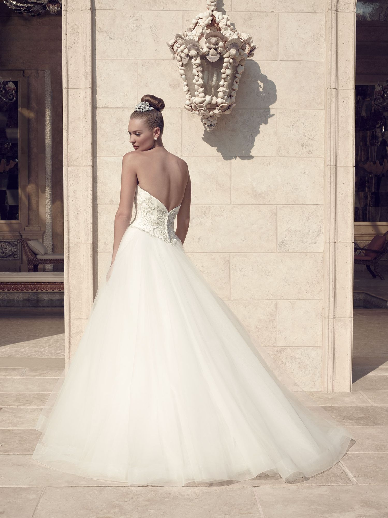 Style 2143 | Casablanca Bridal | Available at Lulu\'s Bridal Boutique ...