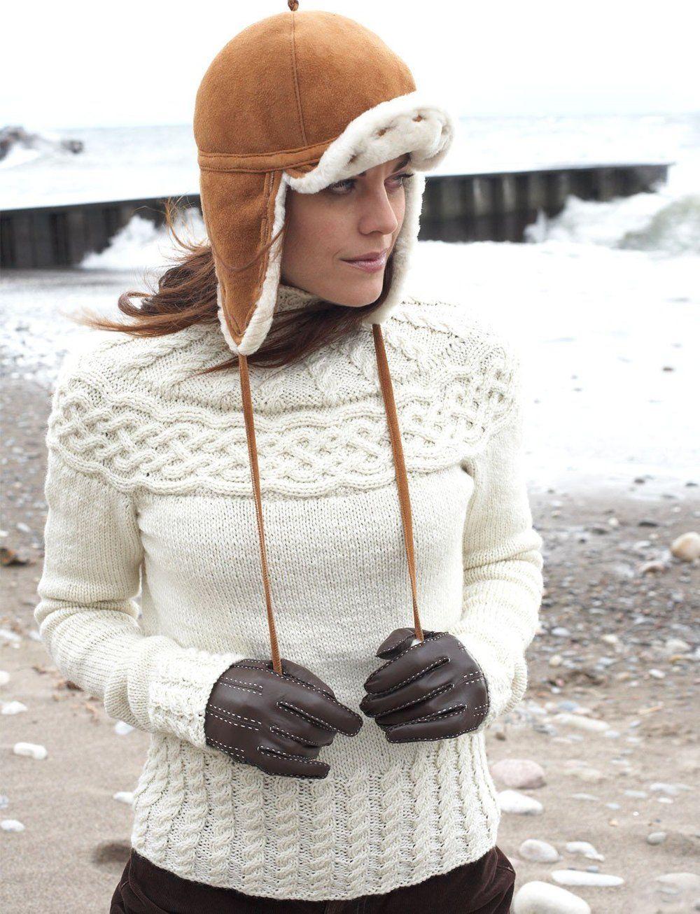 Winter Wonder Cabled Yoke Sweater | Tejido, Hilo y Lana