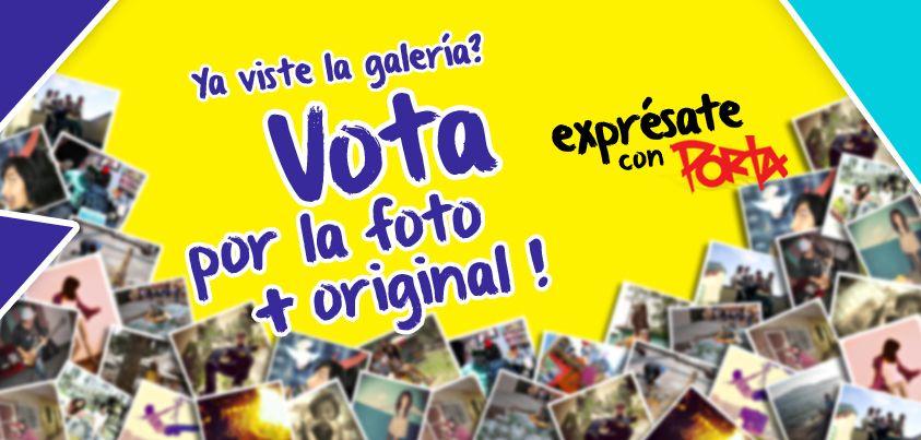 ¿Has visto nuestra galería de participantes? Ayúdanos a seleccionar la foto más original! #ExpresateConPorta