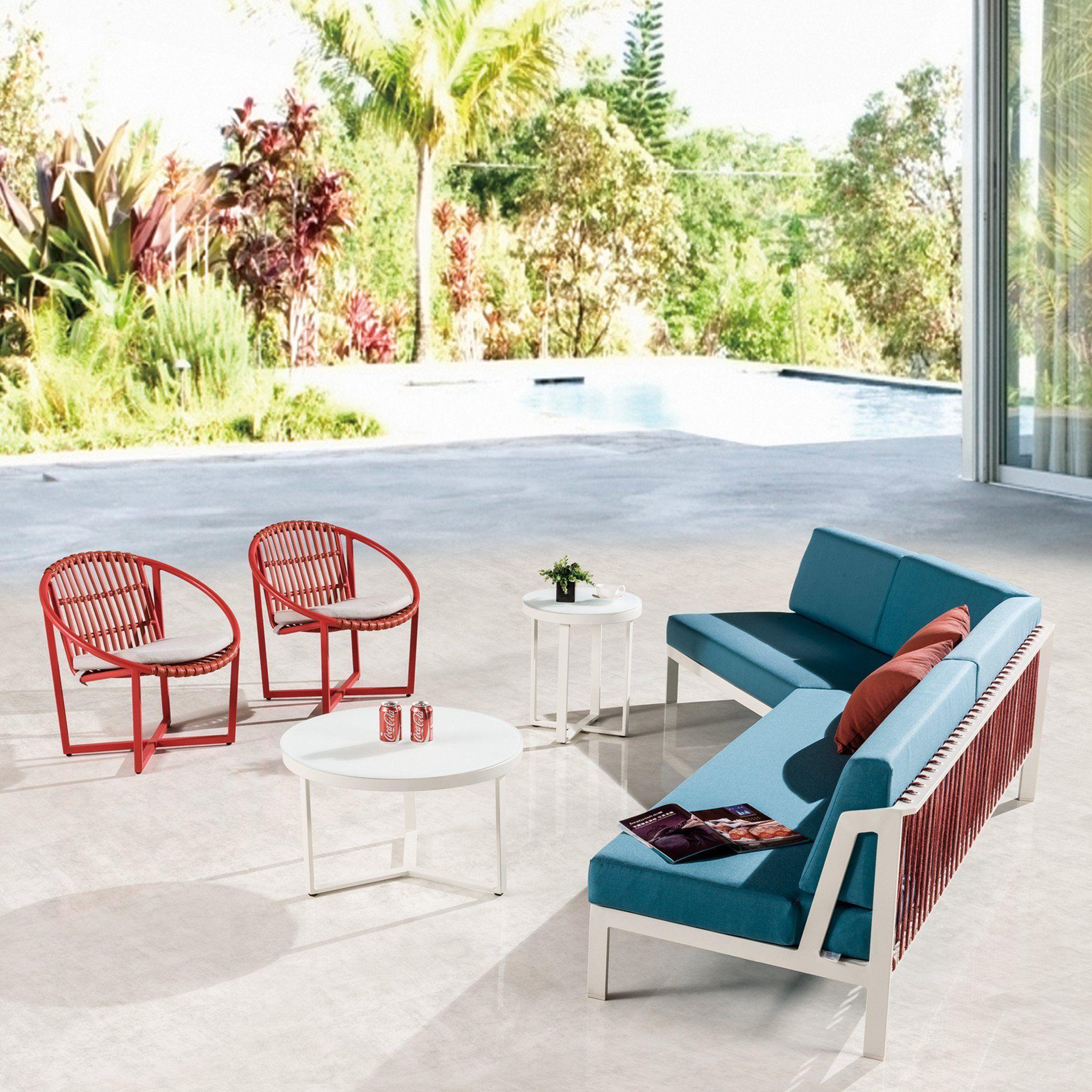 Hyacinth angled sofa patio furnishings patio furniture