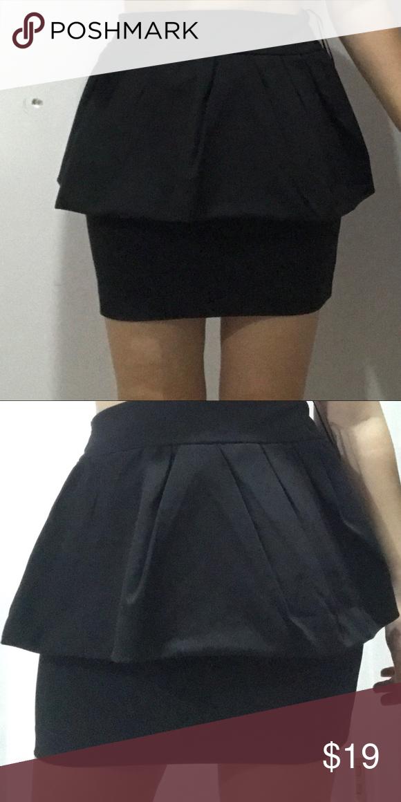 929c3288cc Zara BASIC skirt Used Zara Dresses Mini | My Posh Picks in 2019 ...