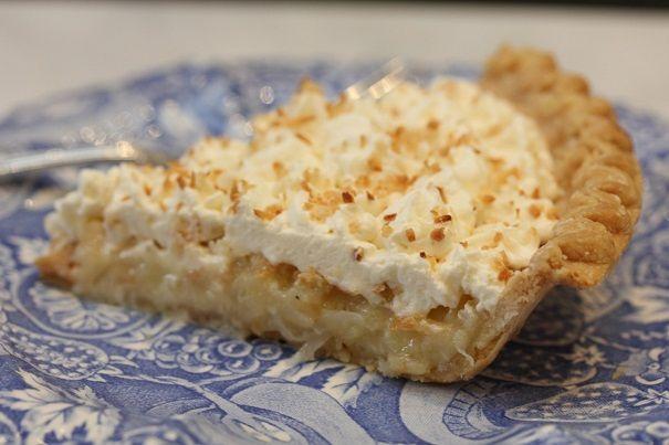 Laura Bush's Buttermilk Coconut Pie convert