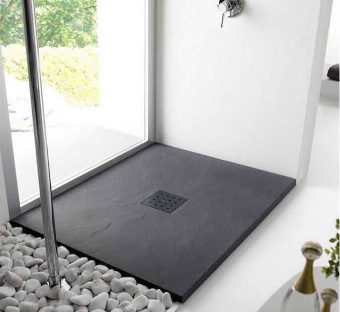 Platos de ducha de pizarra ventajas platos de ducha en - Platos de ducha diseno ...