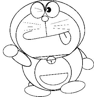 doraemon colouring pictures - Picture For Colouring