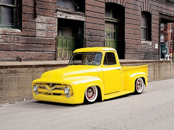 0711ct 01 Z+1955 Ford F100+