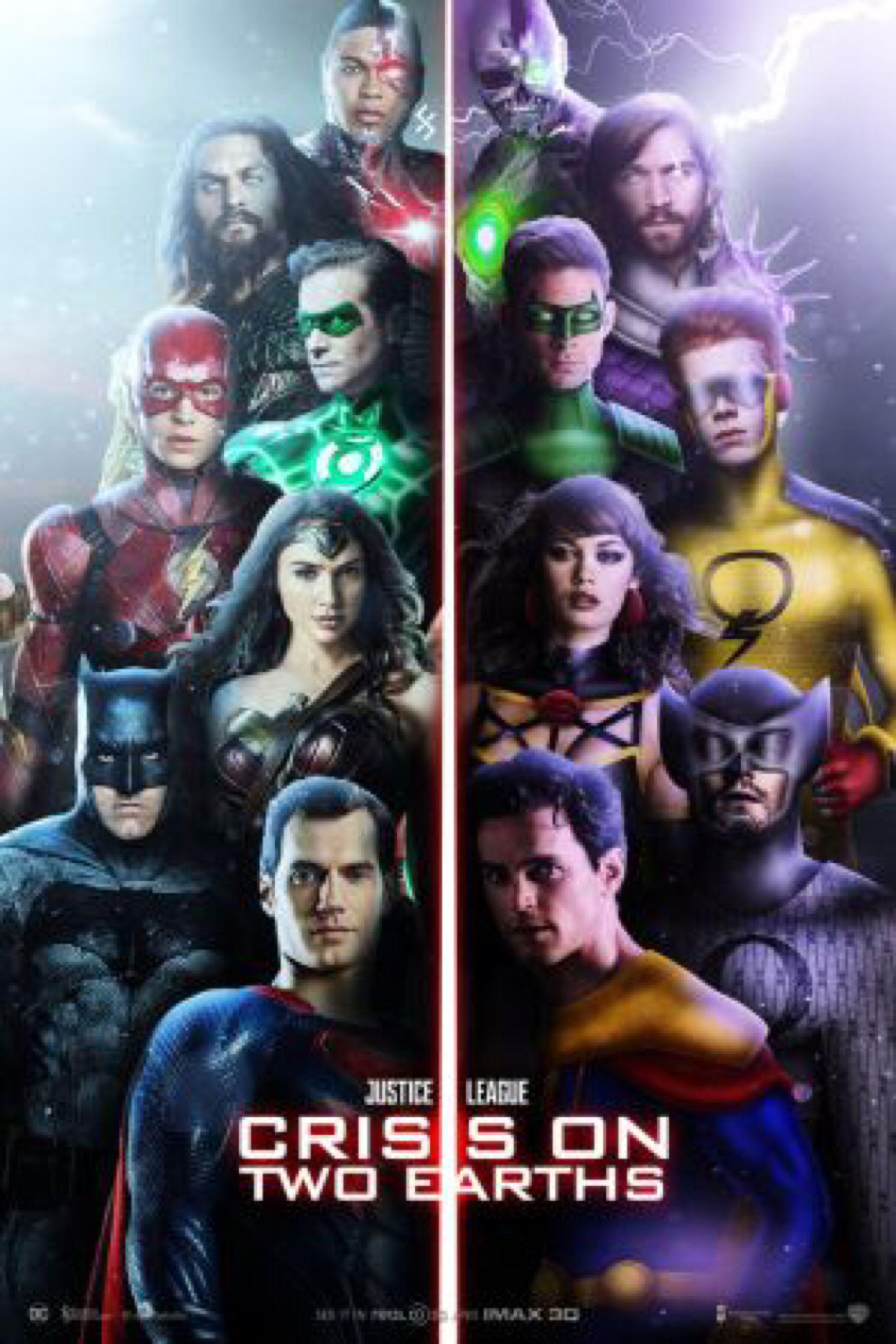 Justice League Crisis On Two Earths By Farrrou On Deviantart Dc Comics Artwork Dc Comics Art Superhero Art