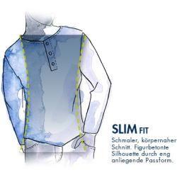 Levi's® Herren Langarm-T-Shirt, Baumwolle, weiß Levi's