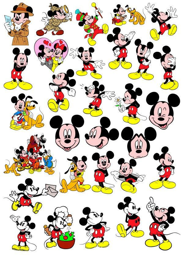 Mickey Mouse Cdr Svg Vector Files in 2020 Vector file