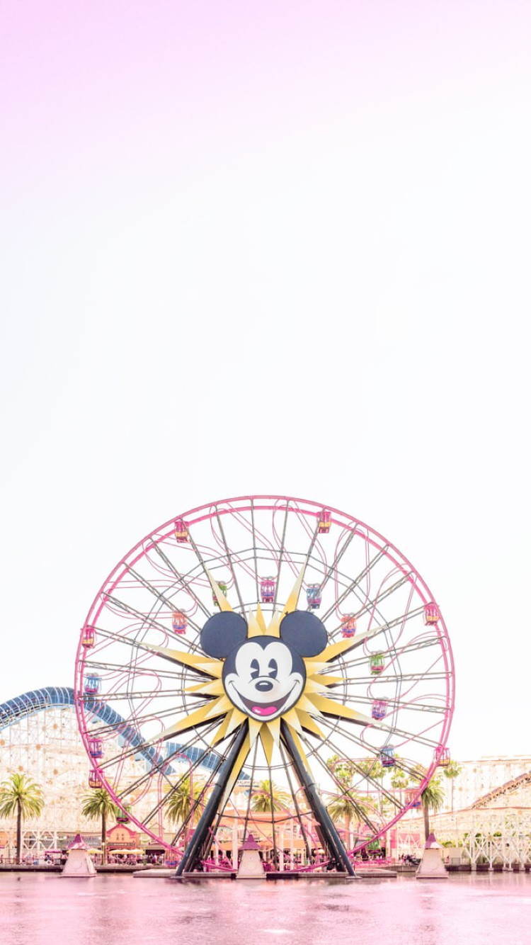 Matt Crump Photography Pastel Iphone Wallpaper Disneyland