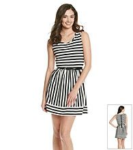 Be Bop Belted Striped Dress @ Bergners/Younkers