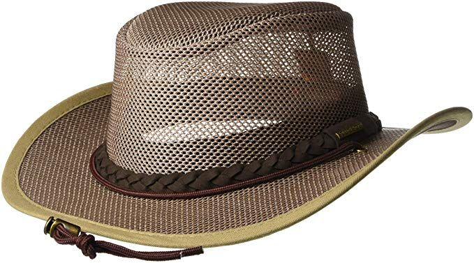 9aa9d4af6ee58 Stetson Men s Mesh Safari Hat