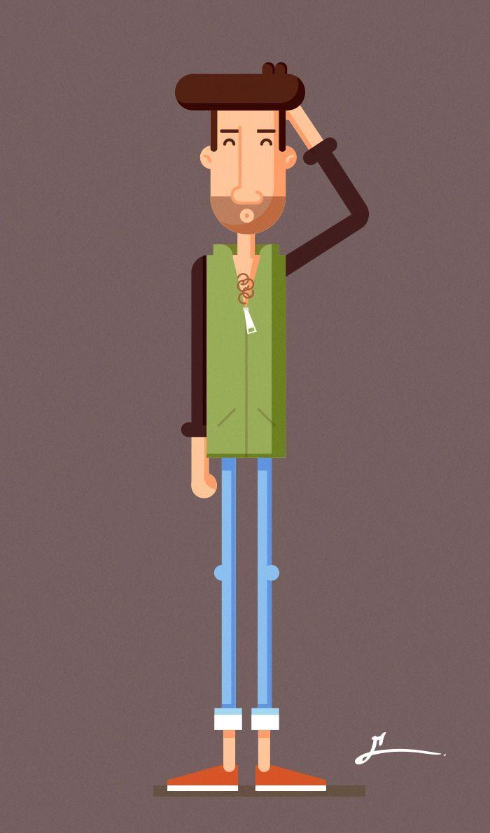 Resultado de imagen para flat design character