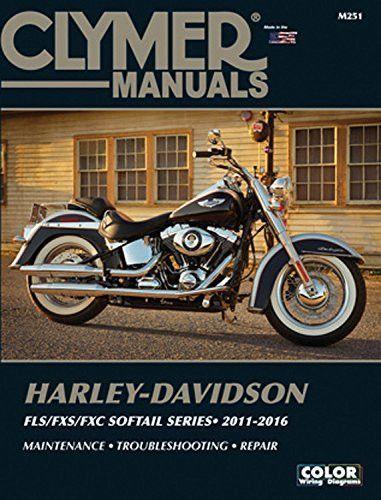 harley davidson fls fxs fxc softail series 2011 2016 clymer manuals rh pinterest com Harley-Davidson Parts Catalog Manuals clymer harley davidson manuals