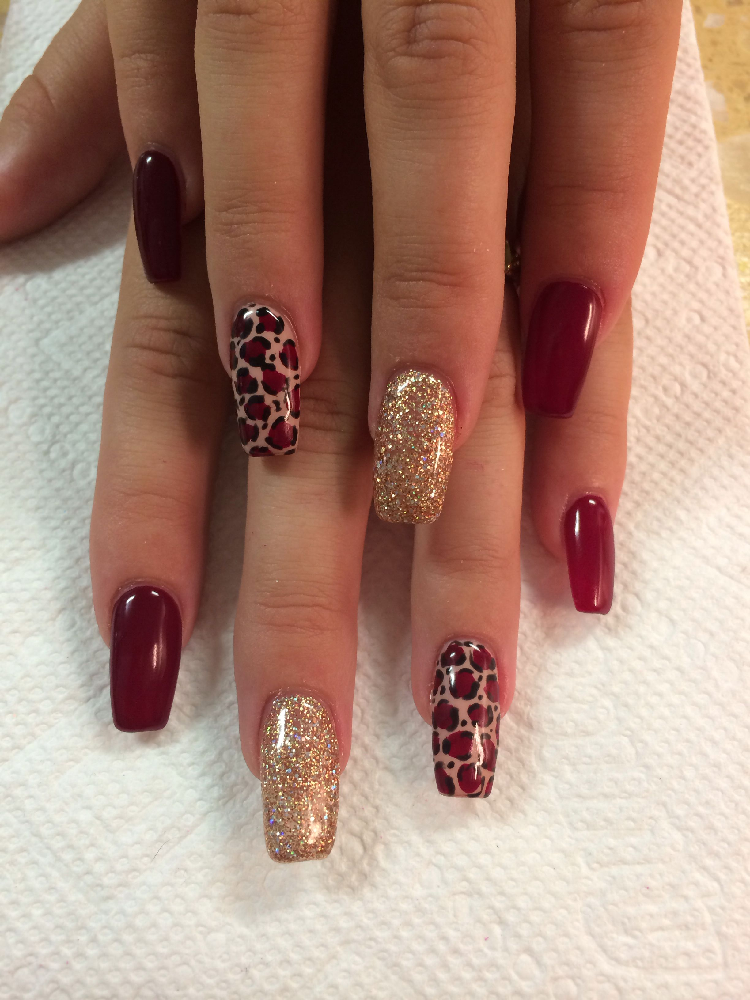 Cheetah print nail design | Nails | Pinterest | Cheetah print ...