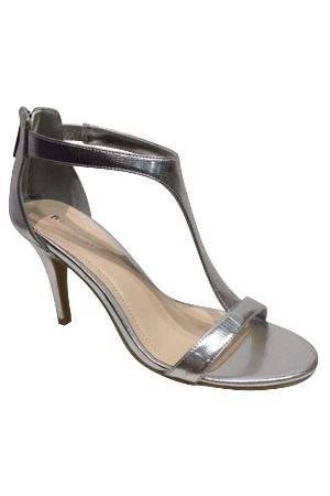 f76d33a9e7192 Bamboo Tully-14 Mid-Heel Sandal in Silver
