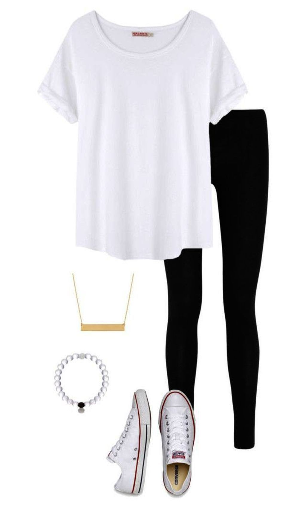 20+ Simple Casual Teen Outfits For School With Vans - 50TRENDOUTFIT