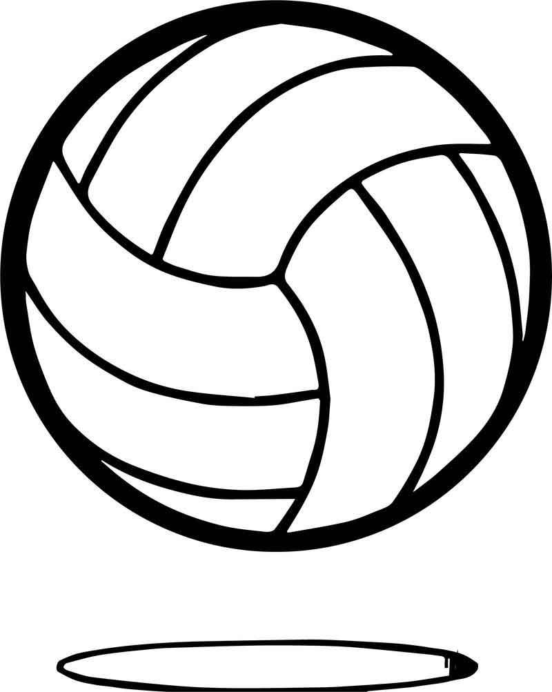Volleyball Ball Up Coloring Page Coloring Pages Curious George Coloring Pages Family Coloring Pages