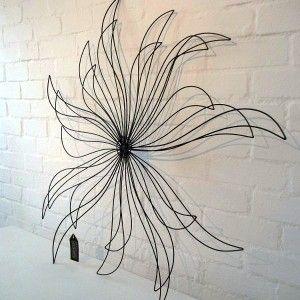 Sunburst, metal garden wall art...so pretty!!   misc ...