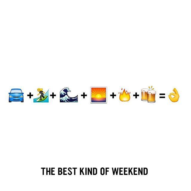 The best kind of weekend! #Weekend #Surfing #Sunday #SundaySurf #SundayFunday Surfing SurfLife