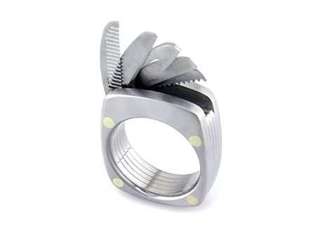 swiss army style ring  - Anky <3