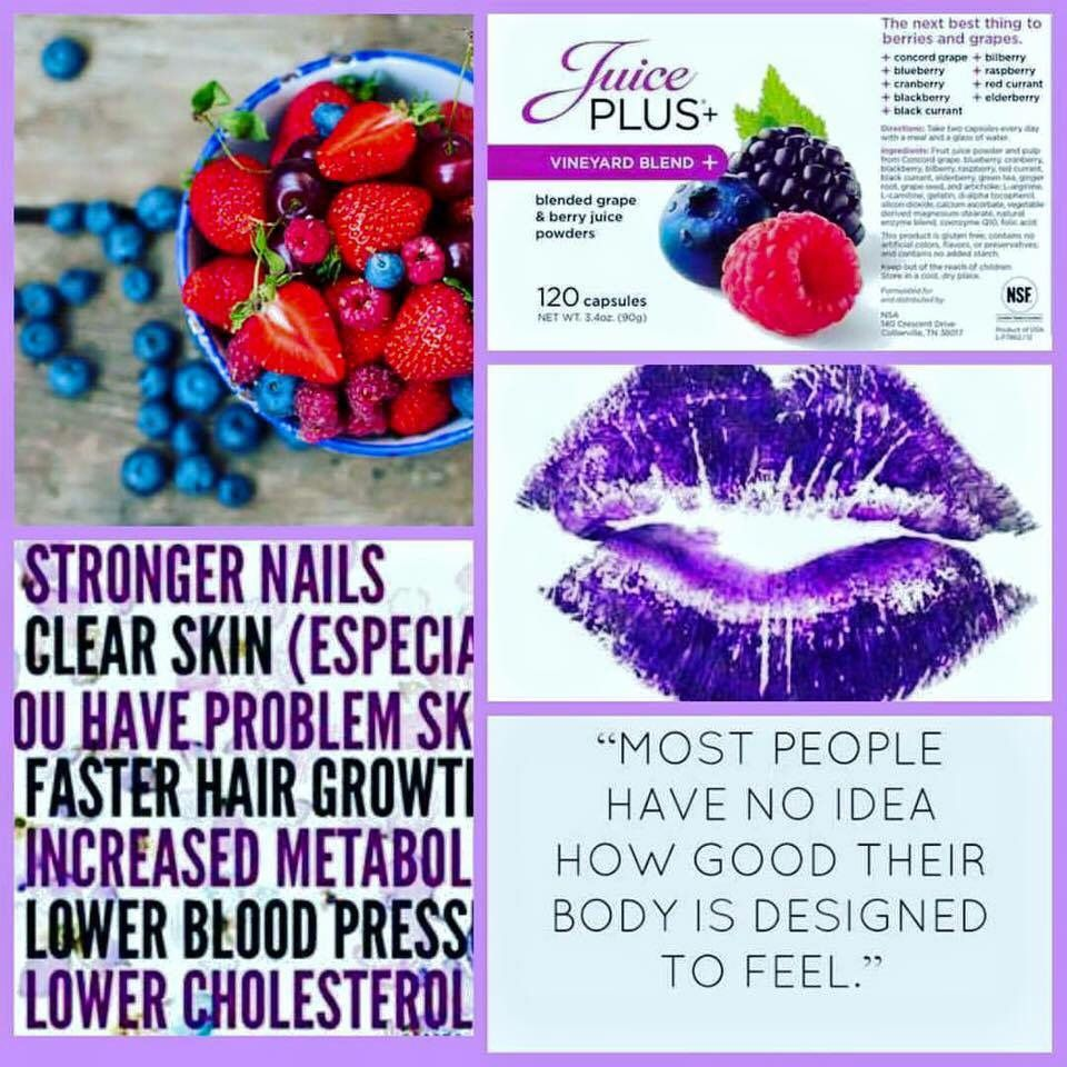 berry capsule benefits! www.michelleward1.juiceplus