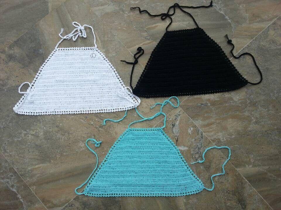 artesanal crochê bikini top, moda top cultura, conjunto de biquíni swimwear rendas em Biquini de Roupas & acessórios no AliExpress.com | Alibaba Group