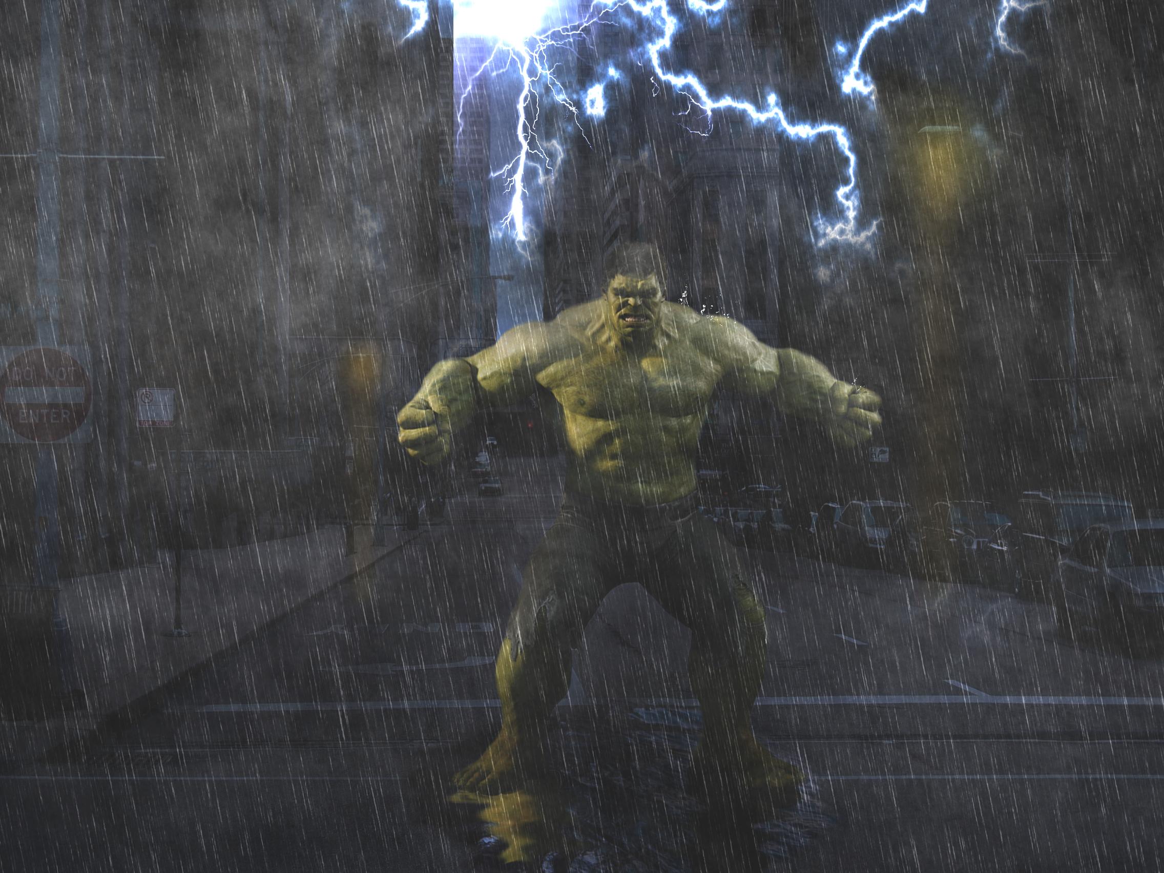 Uma Noite Chuvosa - Hulk