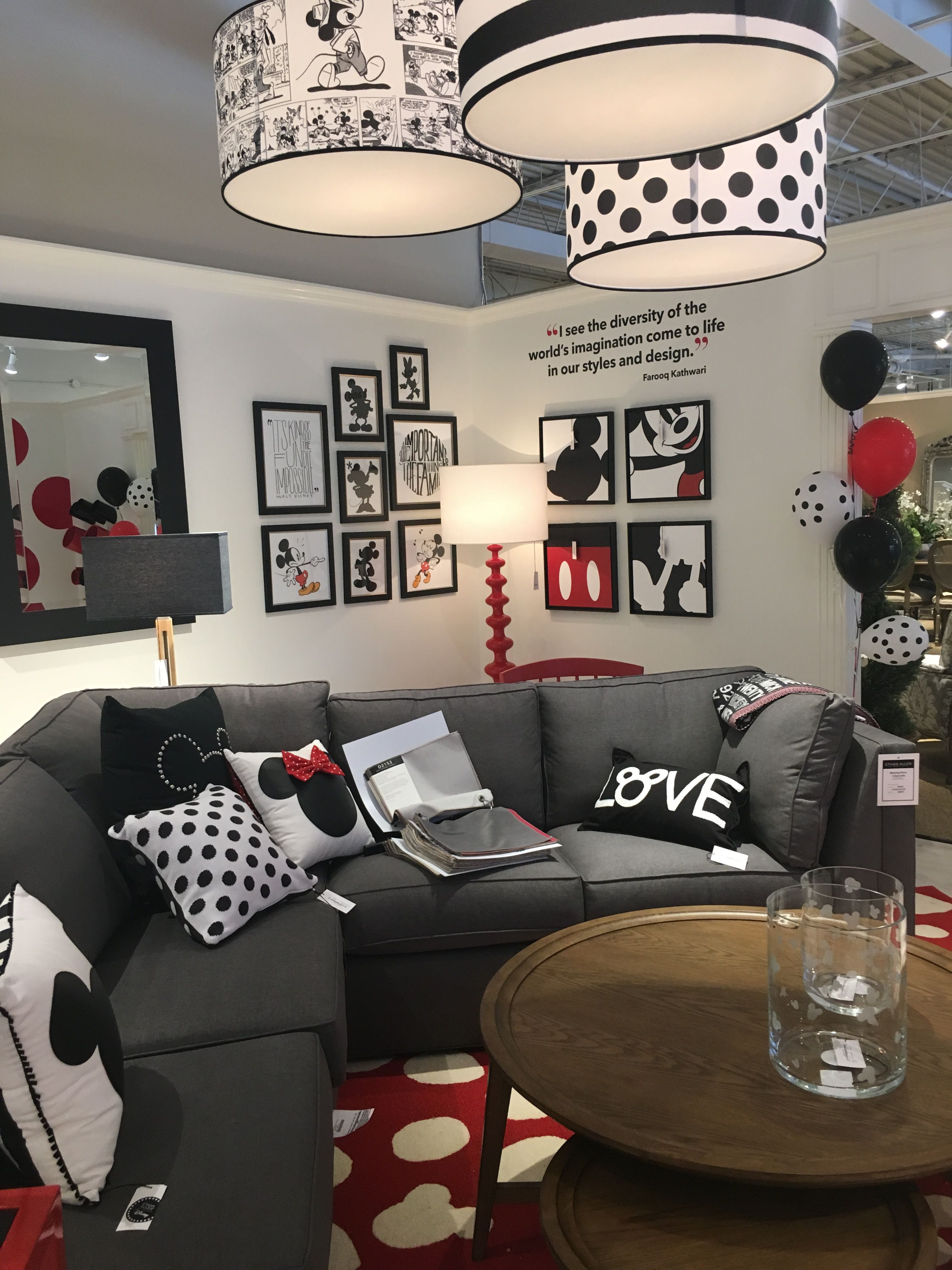 Theme of Mickey Mouse? Sure! By Ethan Allen | Mickey Mouse ...