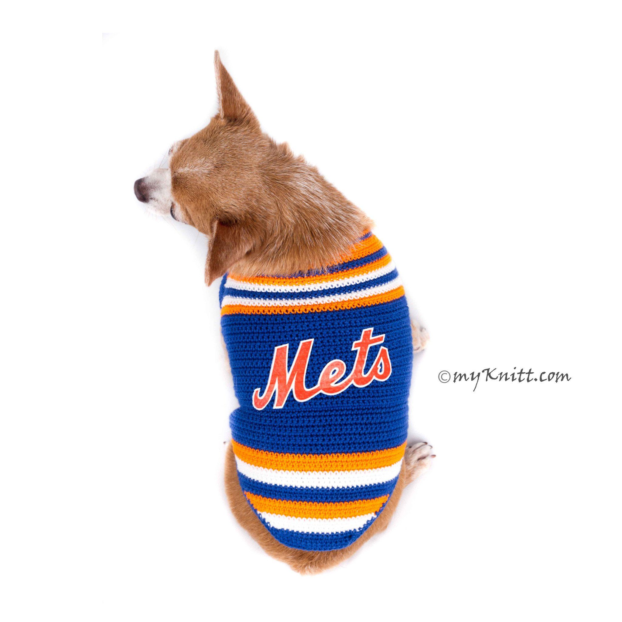 buy online e0c84 33812 New York Mets Dog Jersey MLB Baseball Pet Jersey DK778 by ...