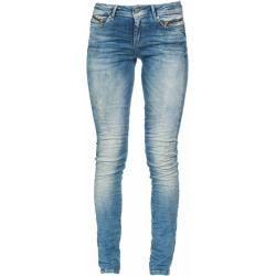 Skinny jeans for women  MOD Womens Jeans Eva Skinny Nos2008 Hip Pants Medium Waist Skinny Leg Mod Blue W25  L30 M