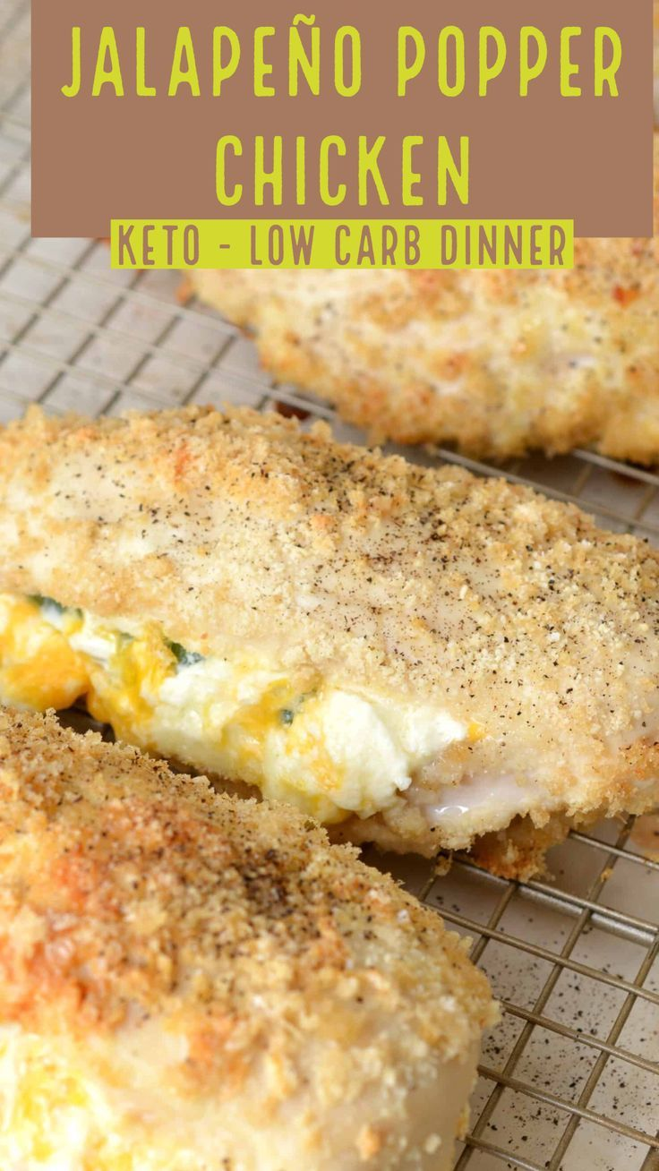 Jalapeno Popper Chicken Keto Recipe