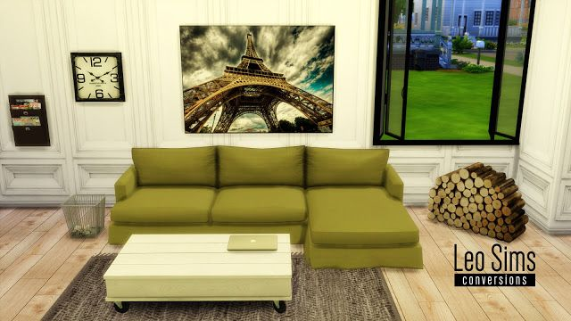 Sims 4 Cc S The Best Ts2 Sofa Conversion By Leo4sims