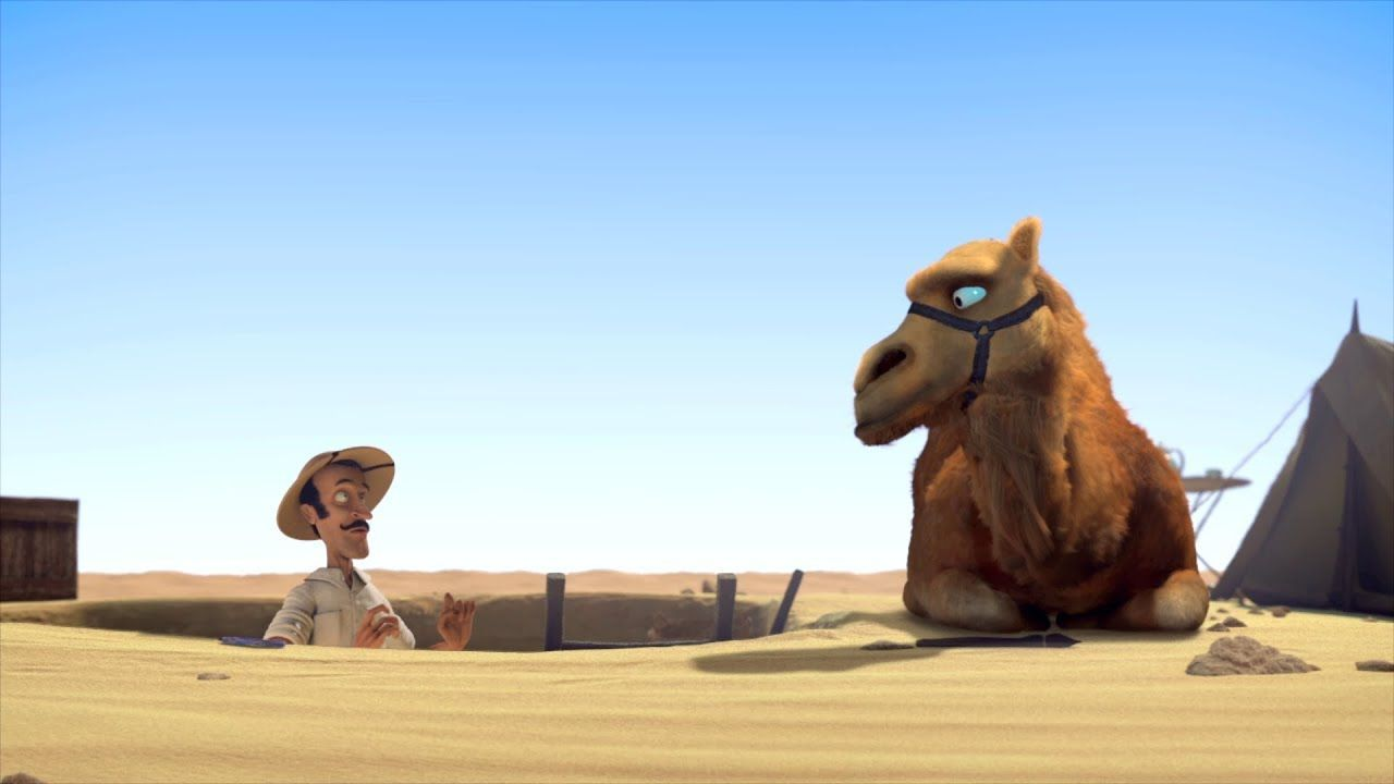 Funny Pictures About Egypt: Funny Animated Short Film (Full HD