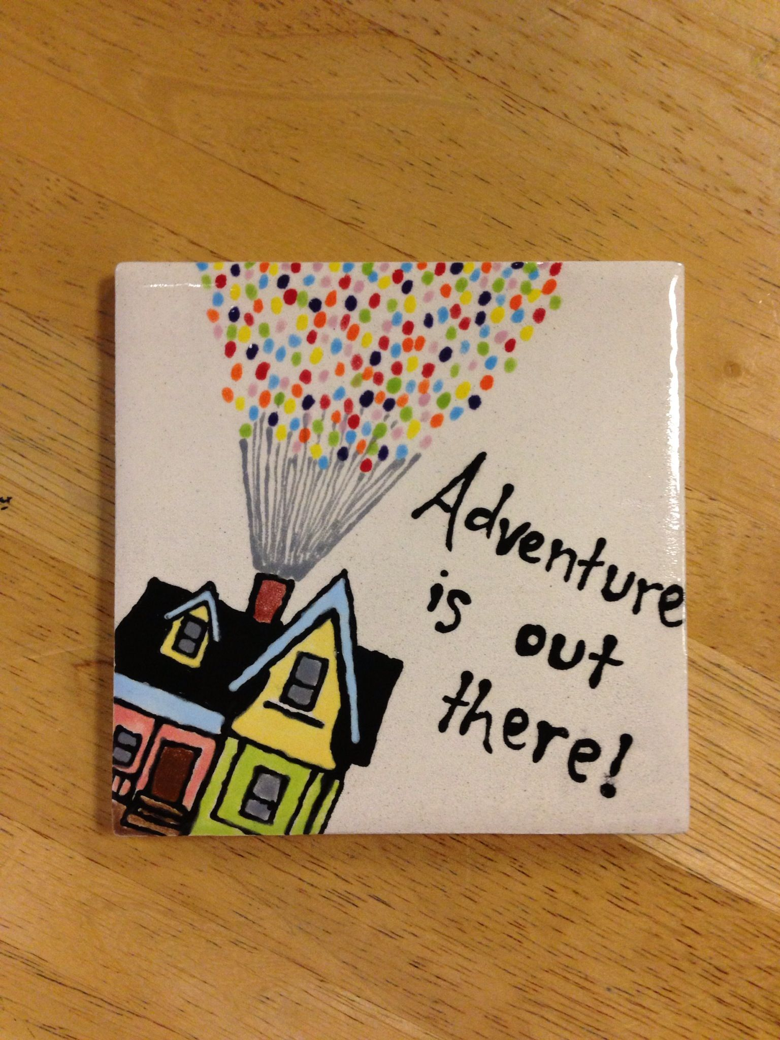 Adventure Is Out There Sharpie Crafts Pottery Painting Paint Your Own Pottery