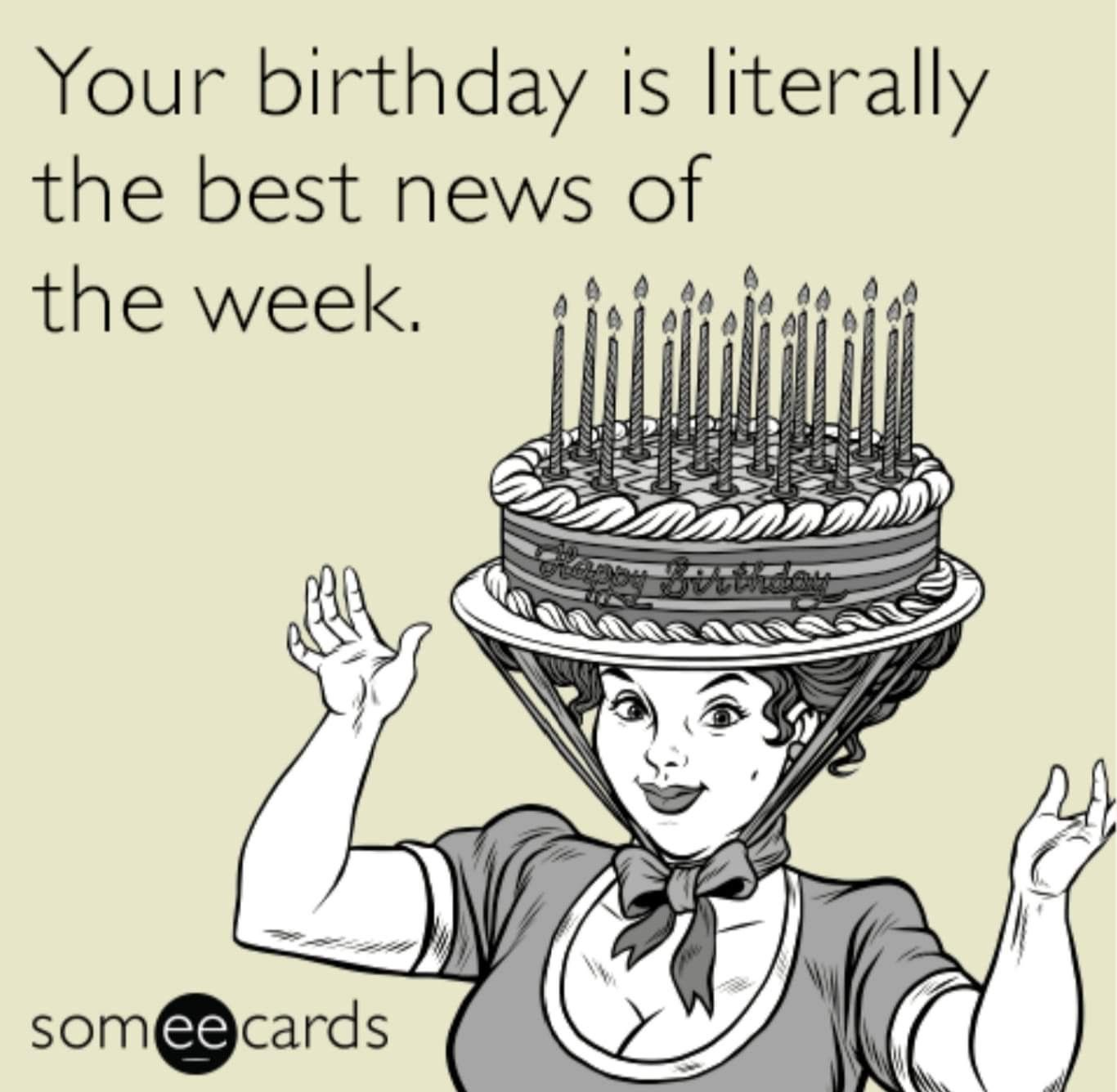 Pin By Si De Luca On Birthday Greetings Birthday Memes For Him Birthday Meme Birthday Memes For Her