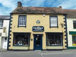 The world famous Discworld Emporium in Wincanton, Somerset - it's great having this just down the road as we are big fans! Find out more at www.facebook.com/... #farmhouse #Etsy #rustic #reclaimed #wood #interiors #UK #handmade #design #country #Discworld #Terrypratchett #Discworldemporium #Wincanton #traditional