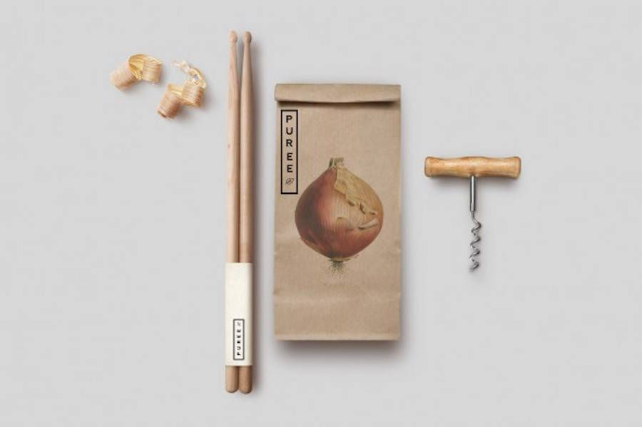 Puree Branding & Packaging by Studio Ahamed – Fubiz Media
