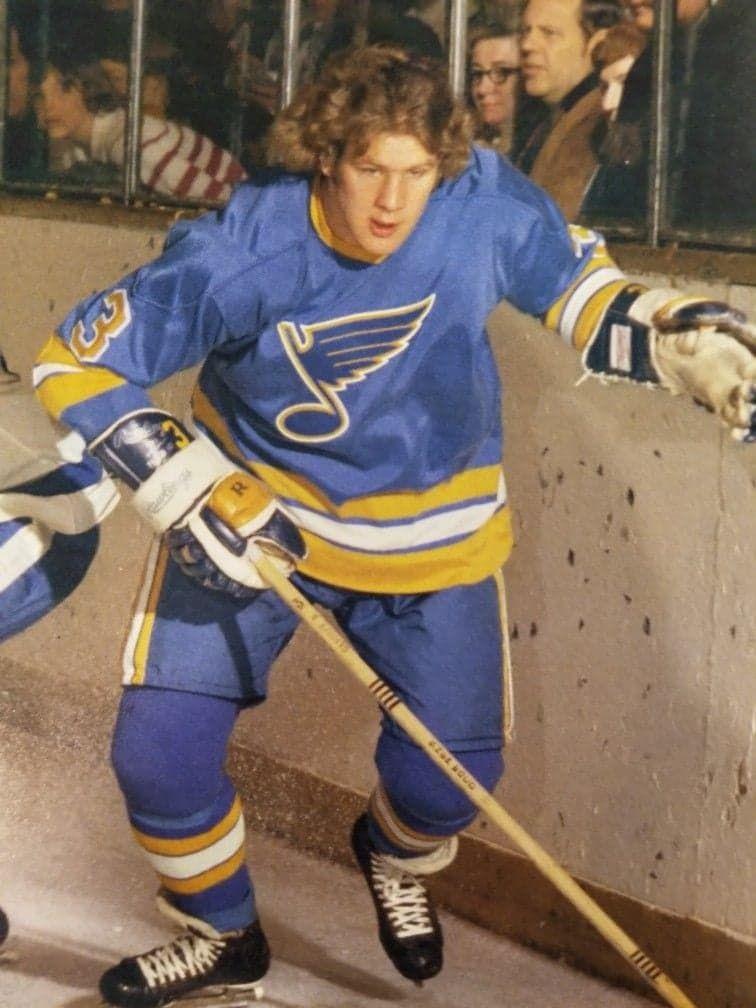 Bob Gassoff in 2020 St louis blues hockey, St louis