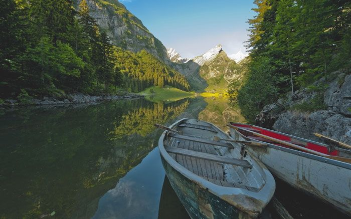 Seen der Schweiz: Eine kleine Perle ist der Seealpsee