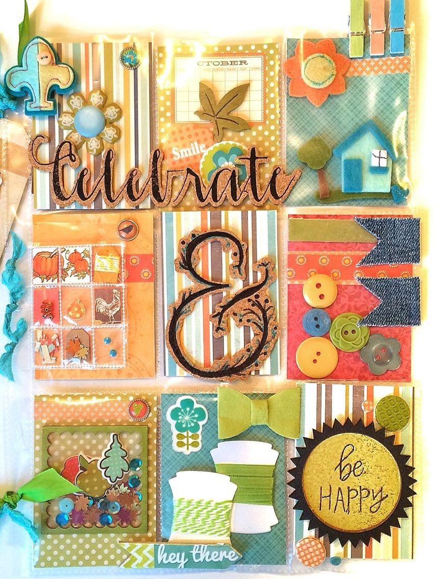 Happy Pocket Letter & Mini Pocket Letter by Jackie Benedict