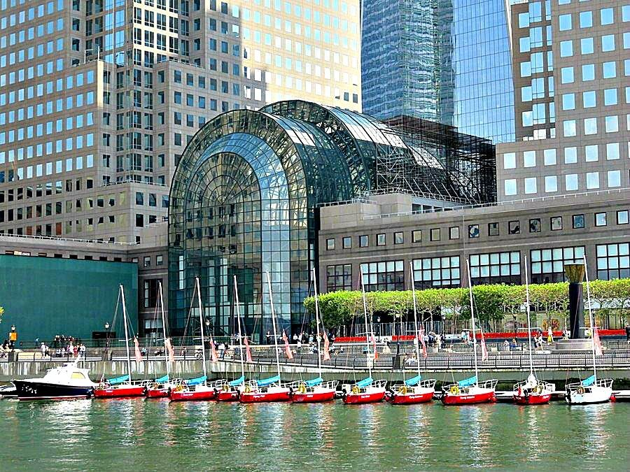 Brookfield Place Formerly The World Financial Center Battery Park City New York City Battery Park City Brookfield Place New York City