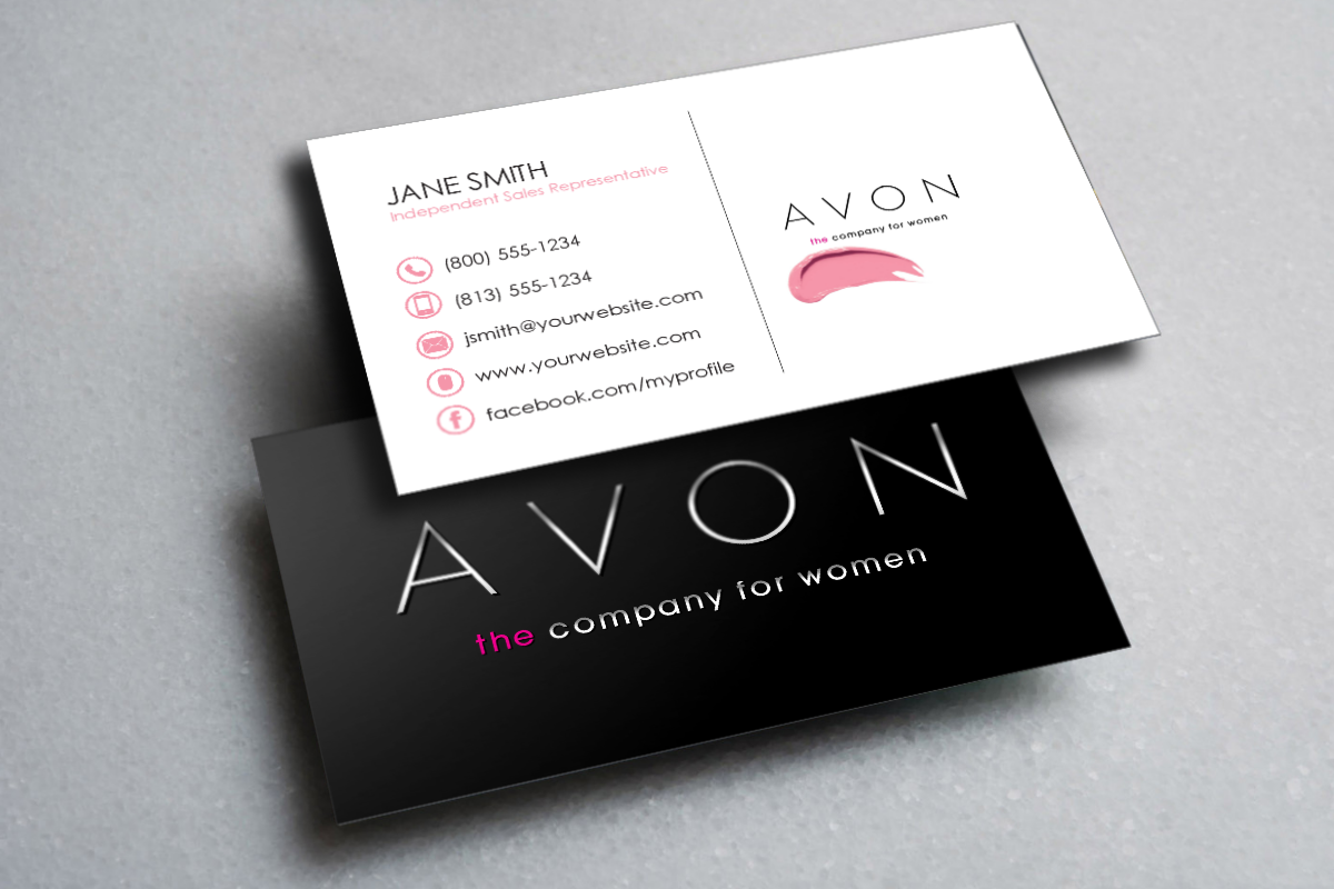 Avon Business Cards In 2020